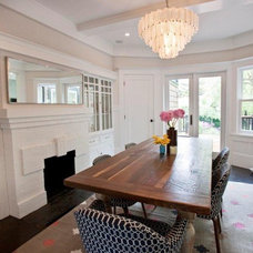 Contemporary Dining Room by Cardea Building Co.