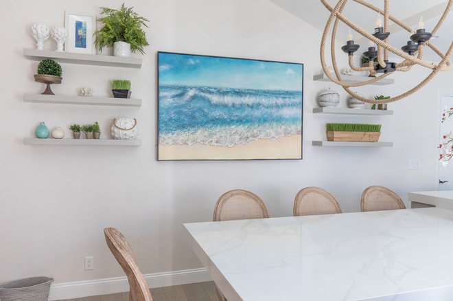 Contemporary Dining Room by 27 Diamonds Interior Design