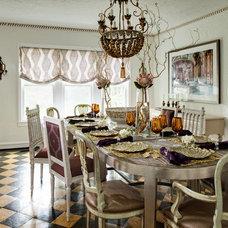 Traditional Dining Room by Buckingham Interiors + Design LLC