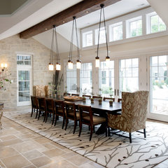 traditional dining room by Johnson Design Inc.