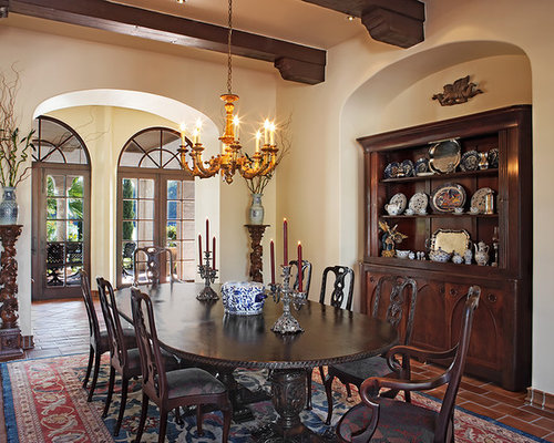Best SpanishStyle Dining Room Design IdeasRemodel PicturesHouzz