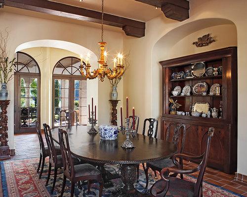 Spanishstyle Dining Room Houzz