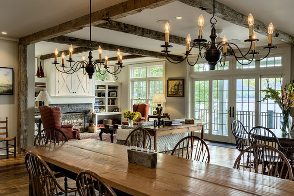 Traditional Dining Room by Crisp Architects