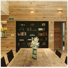 Rustic Dining Room by Design Build Team Inc