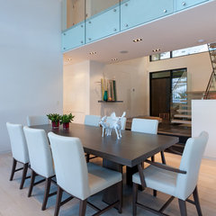 modern dining room by Heffel Balagno Design Consultants