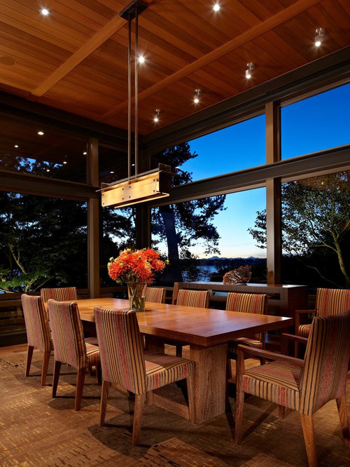 Lake House Dining Room Design Ideas & Remodel Pictures | Houzz