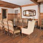 Tahoe Ridge House Rustic Dining Room San Francisco