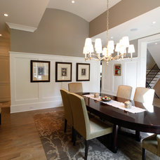 Craftsman Dining Room by The Norwood Group
