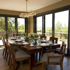 Traditional Dining Room by Shane D. Inman