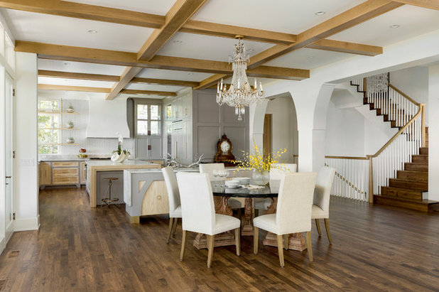 Country Dining Room by ADŌR Homes