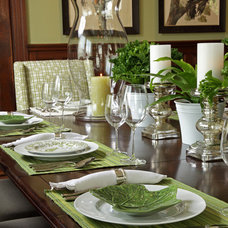Traditional Dining Room by Fusion Designed