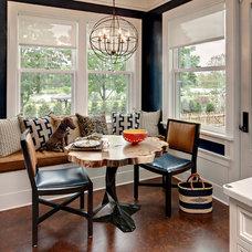 Contemporary Dining Room by KSID Studio, LLC