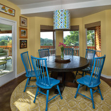 Traditional Dining Room by Laura Manchee Designs