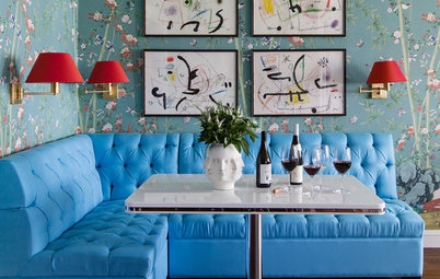Houzz Tour: Fearless Use of Color in a Chicago Co-Op