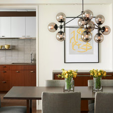 Contemporary Dining Room by Modern Millwork Innovations
