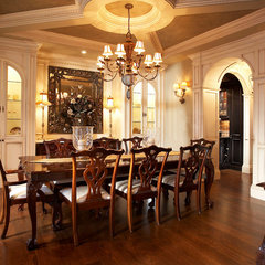 traditional dining room by Parkyn Design
