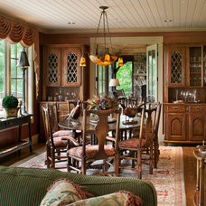 Traditional Dining Room by Kathryn Long, ASID