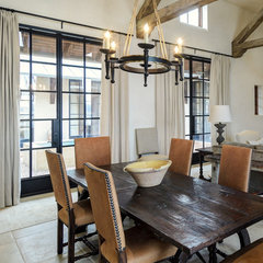 contemporary dining room by Katie Galliano Interiors