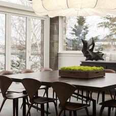 Modern Dining Room by NB Design Group, Inc