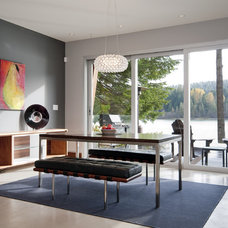 Contemporary Dining Room by Creative Construction Management/Jeff Hill