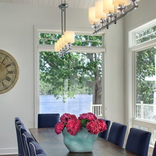 Traditional Dining Room by Kim D. Hoegger