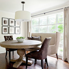 traditional dining room by Marianne Simon Design