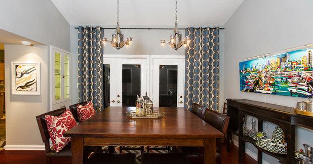 Traditional Dining Room By Allison Jaffe Interior Design LLC