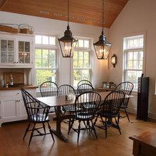 Traditional Dining Room by John Stanek Custom Builders, Inc.