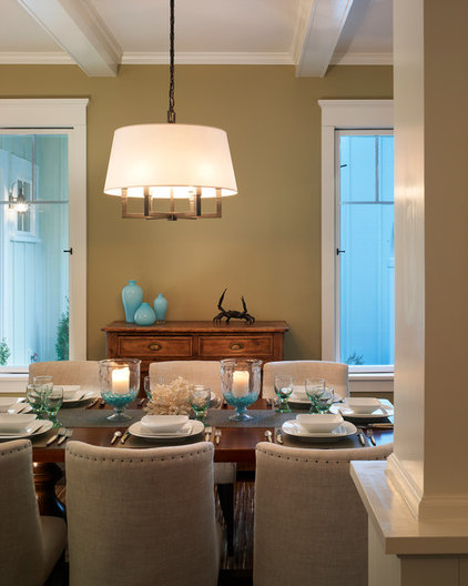 Beach Style Dining Room by Barnes Vanze Architects, Inc
