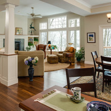 Traditional Dining Room by Bay Cabinetry & Design Studio