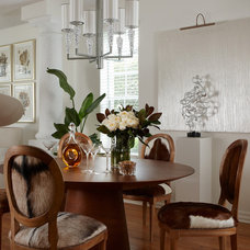 Contemporary Dining Room by Adelene Keeler Smith Interior Design