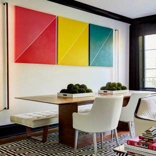 Ex&le of a trendy dining room design in Chicago & 75 Most Popular Contemporary Dining Room Design Ideas for 2018 ...