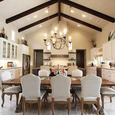 Contemporary Dining Room by Van Wicklen Design