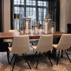 Contemporary Dining Room by Stacy McLennan Interiors