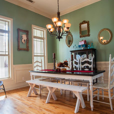 Eclectic Dining Room by Gala Venus