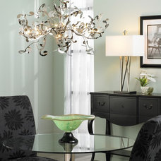 Contemporary Dining Room by Lamps Plus