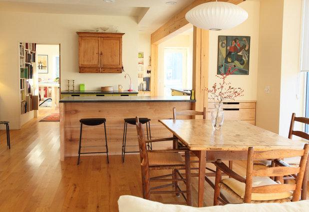 Modern Dining Room by Garland Mill