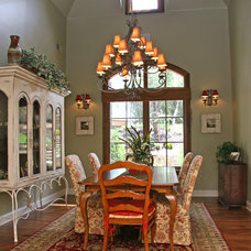 Traditional Dining Room by Landmark Builders