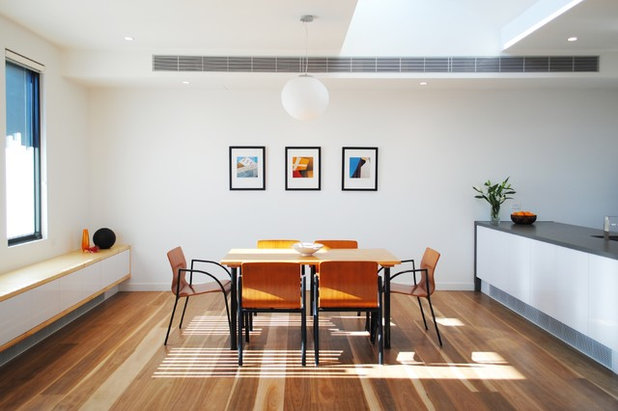 Contemporary Dining Room by Chilton Architects