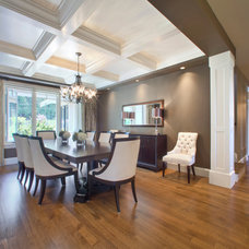 Contemporary Dining Room by Richardson Homes Ltd