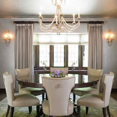 Traditional Dining Room by Karen Houghton Interiors
