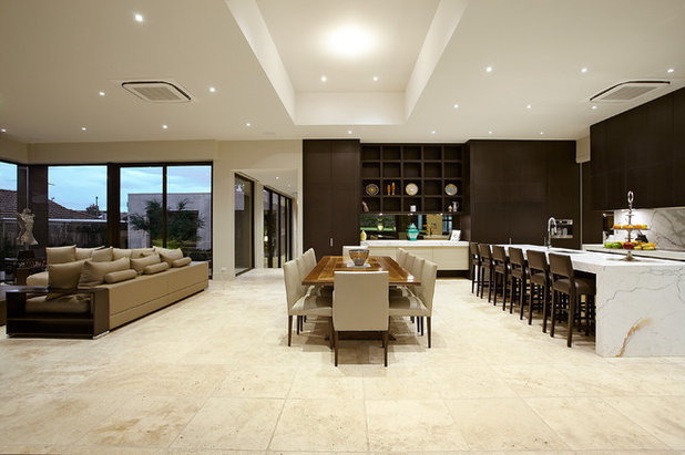 Contemporary Dining Room by Bagnato Architecture & Interiors