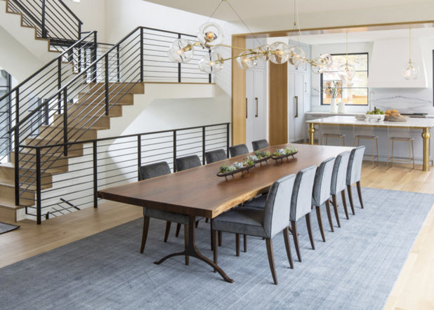 Contemporary Dining Room by Bjorling & Grant