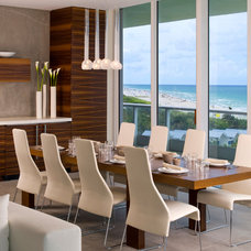 Modern Dining Room by Interiors & Architecture Photography by Ken Hayden