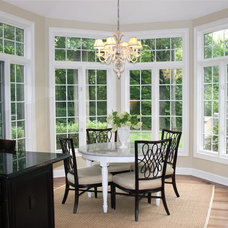 Traditional Dining Room by Lark Interior Design
