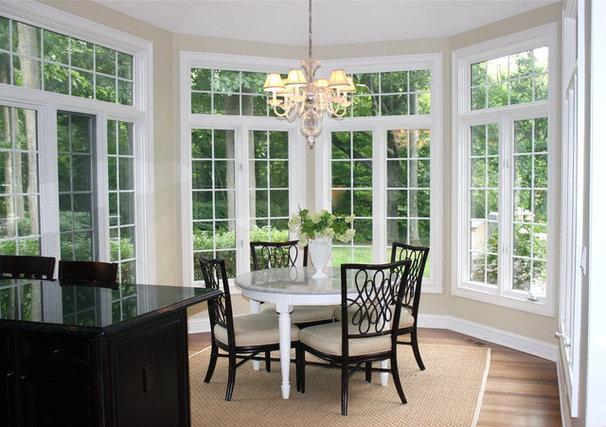 Traditional Dining Room by Lark Interior Design
