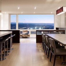 Modern Dining Room by John Maniscalco Architecture