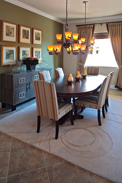 Contemporary Dining Room by Gates Interior Design