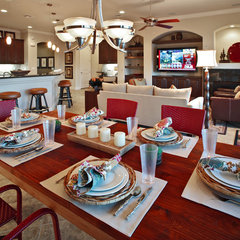contemporary dining room by AB HOME Interiors