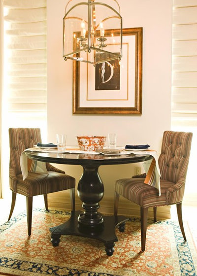 American Traditional Dining Room by Michael Fullen Design Group